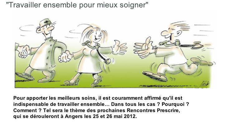 Rencontre prescrire 2012