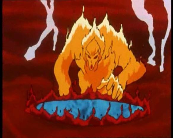 Oui, ma Laryngite Satanique elle a la tête de Malmoth le méchant de Clémentine.